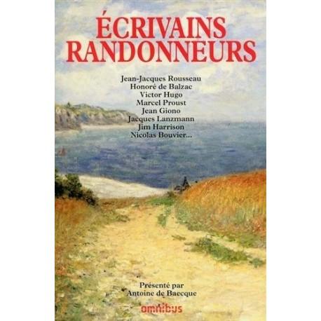 Ecrivains randonneurs 9782258086432 Book