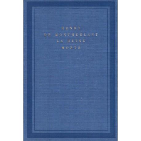 La Reine morte 9782070103676 Book