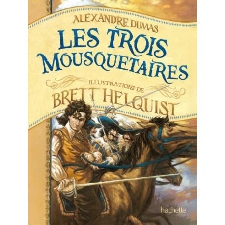 Les trois mousquetaires Brett HELQUIST 9782012027015 Book