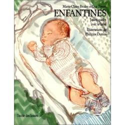 Enfantines - jouer, parler avec le bébé Philippe DUMAS 9782211041096 Book
