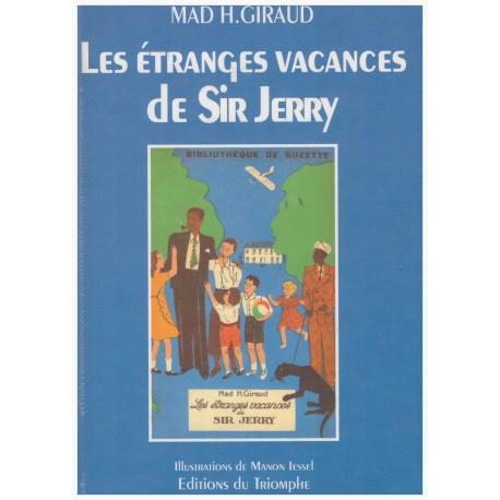Les étranges vacances de Sir Jerry Manon IESSEL 9782909811925 Book