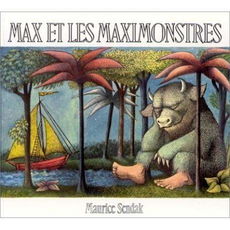 Max et les maximonstres Maurice SENDAK 9782211028936 Book