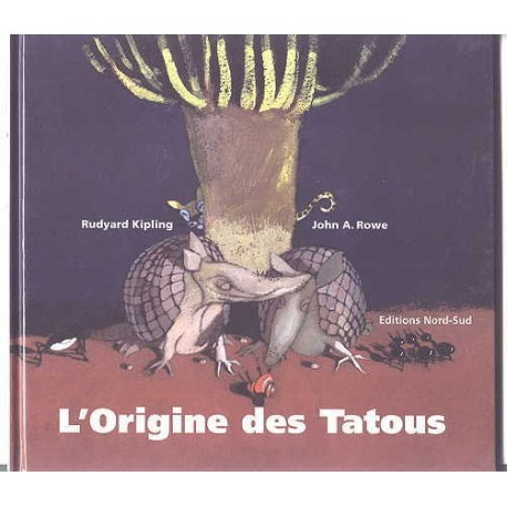 L'origine des tatous John ROWE 9783314209291 Book
