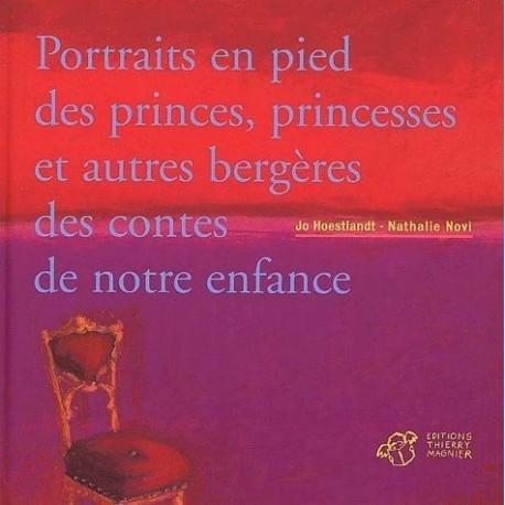 Portraits en pied des princes, princesses et autres bergères des contes de notre enfance
