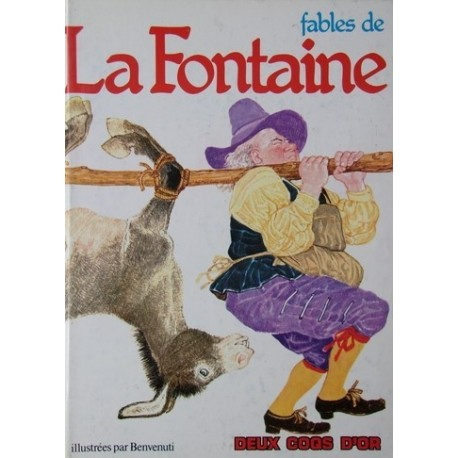 Fables de La Fontaine Gianni BENVENUTI 9782719203484 Book