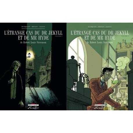 L'étrange cas du Dr Jekyll et de Mr Hyde 2/2 vols Pere MEJAN Delcourt 9782756016993 Book