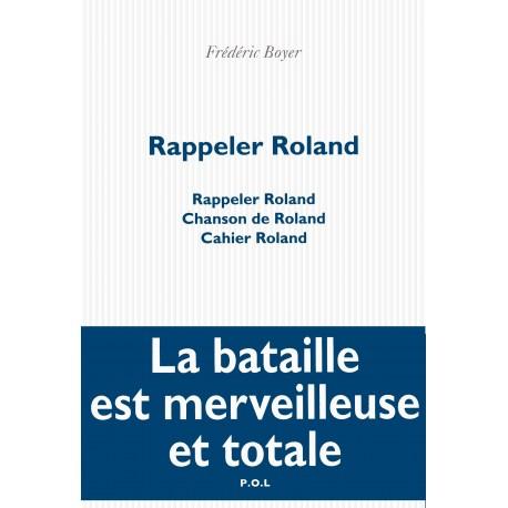 Rappeler Roland 9782818017432 Book