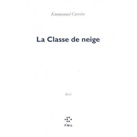 La classe de neige CARRERE Emmanuel POL 9782867444777 Book