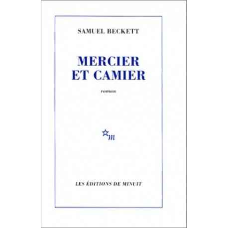 Mercier et Camier 9782707303332 Book