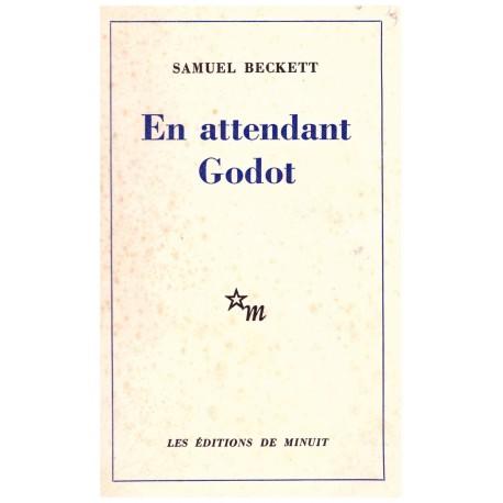 En attendant Godot BECKETT Samuel Minuit 9782707301482