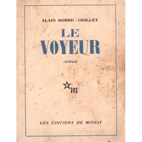 Le Voyeur ROBBE GRILLET Alain Minuit 9782707302434 Book