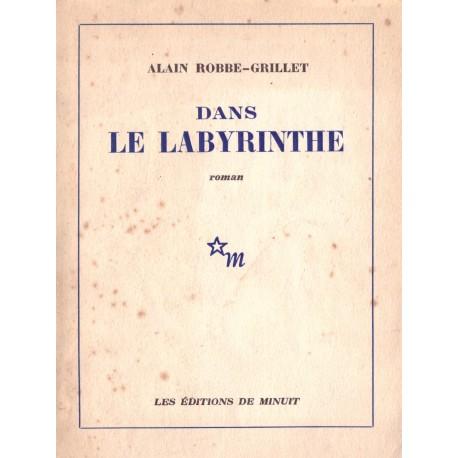 Dans le labyrinthe ROBBE GRILLET Alain Minuit 9782707300829