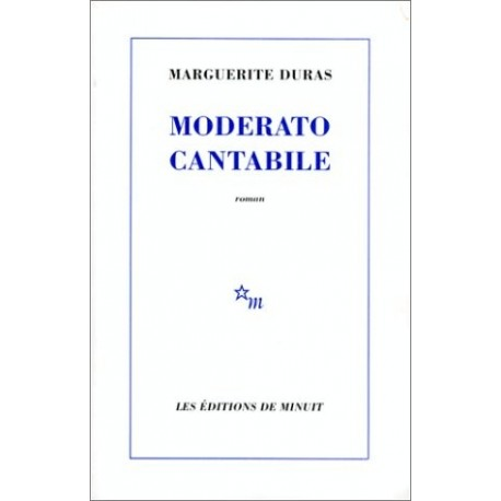 Moderato cantabile 9782707303394 Book
