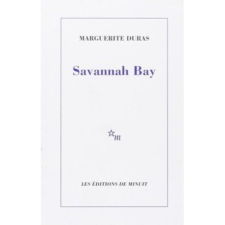 Savannah Bay DURAS Marguerite Minuit 9782707306685