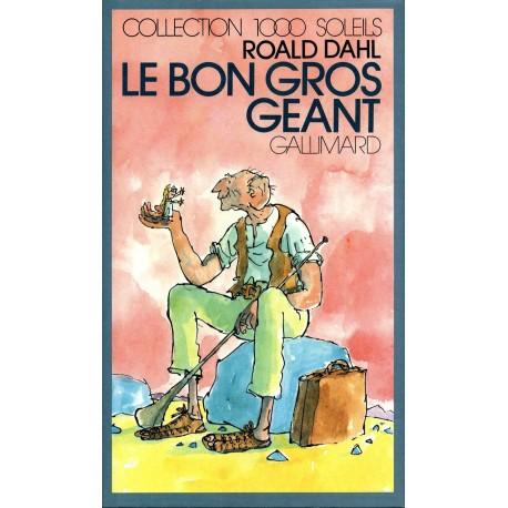Le bon gros géant - le BGG Roald DAHL 9782070501793 Book