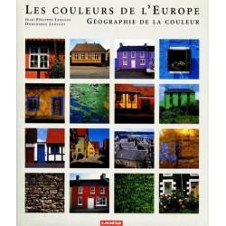 Couleurs de l'Europe - géographie de la couleur 9782281190892 Book