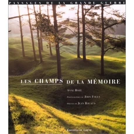Les champs de la mémoire - paysages de la Grande Guerre John FOLEY 9782842770822 Book