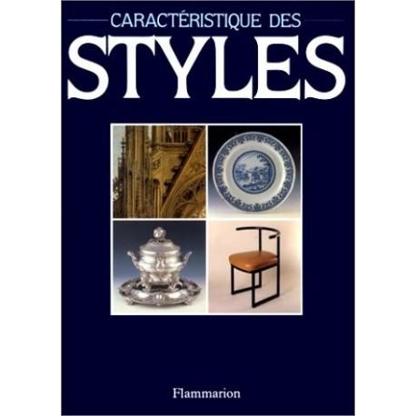 Caractéristique des styles 9782080113597 Book