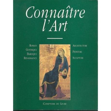 Connaitre l'art - architecture, sculpture, peinture 9782867213342 Book