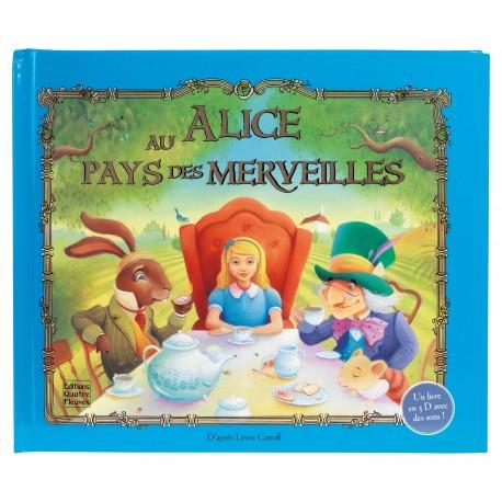 Alice au pays des merveilles - Lewis CARROLL Ed Quatre fleuves pop up