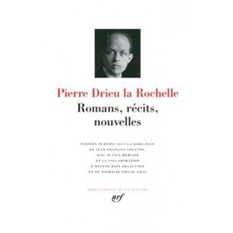 Oeuvres Pierre DRIEU LA ROCHELLE Gallimard 9782070118854