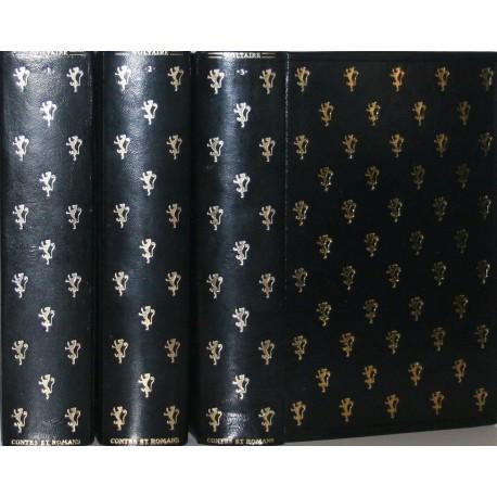 Contes et romans Voltaire Jean de Bonnot 3/3V