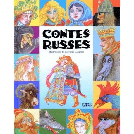 Contes russes Giovanni GIANNINI 9782244451022 Book