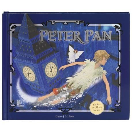Peter Pan James Matthew Barrie Quatre Fleuves Pop up 9782841967728