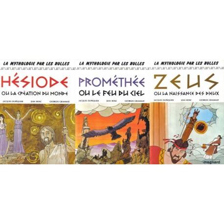 La mythologie par les bulles Georges GRAMMAT 9782210853010 Book