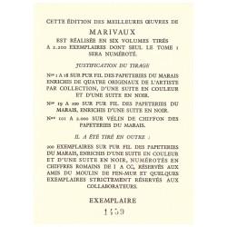 Oeuvres de Marivaux Paul - Emile BECAT Arc-en-ciel 0710377710067 Book