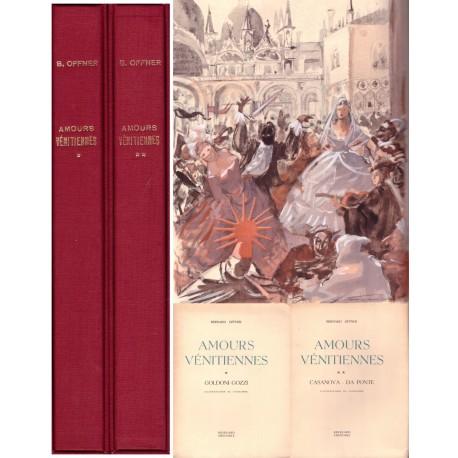 Amours vénitiennes par Goldoni Gozzi Casanova Da Ponte 2/2V Roissard