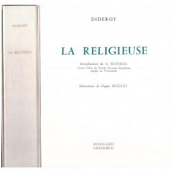 La religieuse Denis Diderot Roissard