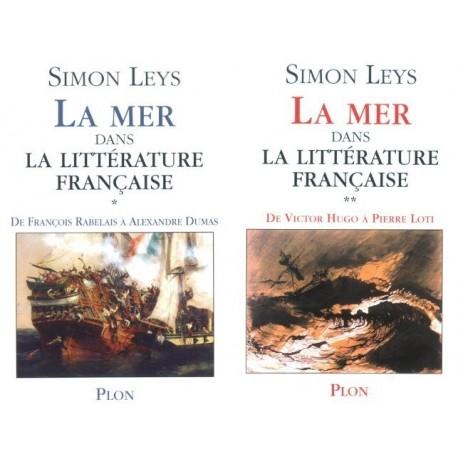 La mer dans la littérature française 2/2V Simon LEYS Plon 9782259198660